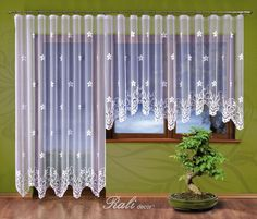 Ingrid záclona metrážová výška 250cm barva bílá - RALI Decor, s.r.o. - bytový textil, záclony a povlečení