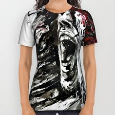 The Pain of Cluster Headache All Over Print Shirt 24hsale #TODAY / 20% Off + freeshipping worldwide @society6 artecluster store / Thx for supporting Awareness through Art #clusterheadaches #migraine
