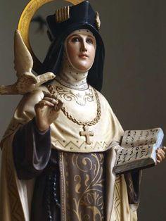 Etsy のEcstasy of Saint Teresa of Avila Glass Eye Santa Teresa de Avila Antique Santos Religious Statues Art 1920s Arte Cristiano /153(ショップ名:GliciniaANTIQUE)
