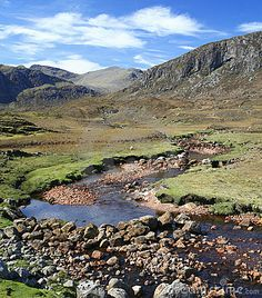 Mountain stream, Isle of Harris, Outer Hebrides