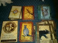 Animal dreaming Oracle i just got this deck today, Love it Tarot, Deck, Painting, Animals, Collection, Animales, Animaux, Painting Art, Paintings