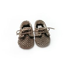 Ross baby boys unisex brown herringbone oxfords baby shoes, 0-2yrs, soft soled boys shoes on Etsy, $28.80
