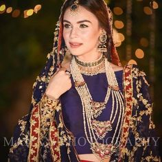 Latest Bridal Necklace Designs trending in 2020 - Witty Vows Pakistani Wedding Outfits, Pakistani Wedding Dresses, Pakistani Dress Design, Bridal Outfits, Nikkah Dress, Bridal Looks, Bridal Style, Pakistan Bride, Pakistan Wedding