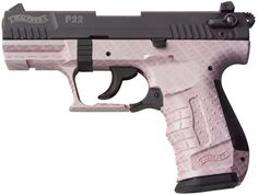 Walther P22Q Pink Carbon Fiber...What I want for Christmas.....maybe this year will be the year I finally get my gun....I've only been asking for 3 years...lol