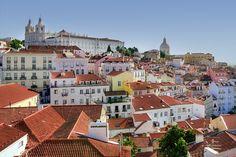 Alfama, Lisboa, Cores, Portugal