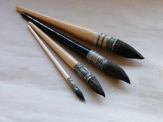 """Cynthia R. """"Arte, don y pasión"""": Acrylic paint brushes/Tipos de pinceles pintura ac..."""