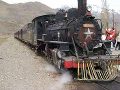 Trochita,tren a vapor en Esquel.