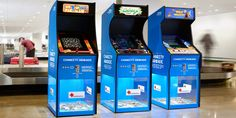 You know those donation boxes at airports where you drop your foreign coins? Well, together with our client Swedavia Swedish Airports and the Red Cross we rebuilt the boxes at Arlanda Airport into Charity Arcades. Good ol' classic games, modified to accept every coin in the world and make both donating and waiting for bags …