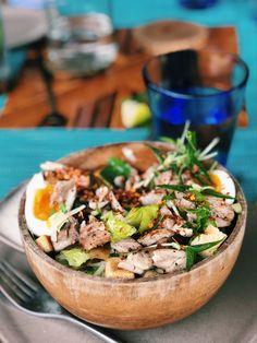 Easy Chicken Caeser Salad