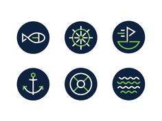 Paddle Icons by Chris Cureton
