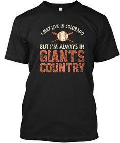 Ltd. Ed. CO Is Giants Country Tees!!!   Teespring