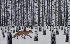 "pagewoman:  "" Forest Fox  by Hester Cox  """
