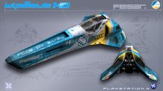 Feisar - WipEout HD - PS3 by nocomplys.deviantart.com