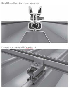ClampRail System - ClampRail System - ALUMINIUM PHOTOVOLTAIC STRUCTURES -