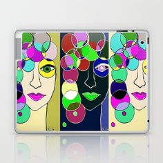Different sides of Me Laptop & iPad Skin by sladja - $25.00 Laptop Skin, Ipad, Phone Cases, Shower, Prints, Rain Shower Heads, Showers, Phone Case