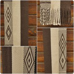Bufanda de alpaca echarpe chal unisex moda de por TelaresNUEVOMUNDO Inkle Weaving, Textiles, Weaving Patterns, Textile Art, Lana, Blanket, Unisex, Inspiration, Design