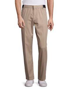 ALEXANDER WANG Cotton Blend Trousers. #alexanderwang #cloth #trousers