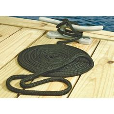 Seachoice Double Braided Nylon Dock Line, 5/8 inch x 20', Navy