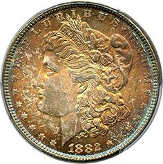 1882 P Morgan Dollars Dollar MS65 PCGS -- Click on the image for additional details.