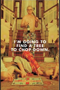 This is how i always deal with my stress, too. - ---Moonrise Kingdom. Wes Anderson.