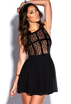 Leopard Lace Dress | FOREVER21 - 2000128034