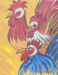 More roosters!!!