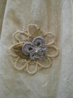 ♕ 'The Modest Violet' crochet tutorial ~ another one I look forward to making!