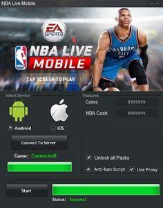 nba live mobile apk hack download no survey