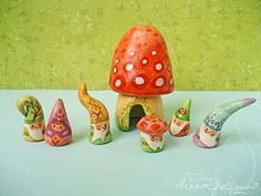 WOW! I see an over population of gnomes happening in my house! (Flickr page with lots more)