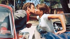 'You should never have to look for evidence that someone loves you. True love is crystal clear. * Jean-Paul Belmondo & Anna Karina - 'Pierrot le fou' a French film directed by Jean-Luc Godard based on 'Obsession', a novel by Lionel White. Anna Karina, The Stranger, Marcello Mastroianni, Steve Mcqueen, John Travolta, Clint Eastwood, Catherine Deneuve, New Wave Cinema, Tragic Love