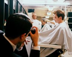 "Dane DeHaan as James Dean & Robert Pattinson as Dennis Stock in ""Life"" (2015)"