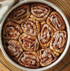 Cinnamon rolls glutenvrij uit de Airfryer