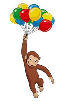 Curious George Crafts, Curious George Party, Curious George Birthday, 6th Birthday Cakes, Spa Birthday, Birthday Party Themes, Toddler Art, Toddler Crafts, Curios George