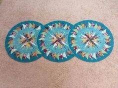 Seasonal Table Runner, Quiltworx.com, Made by Deborah Enroughty.