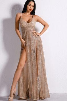 Illegal Beauty Maxi Dress - AMEKANA.COM