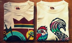 Sweet Reggae Beat and Funky Chicken New Hot Shot Wear designs http://shop.hotshotwear.net/products_new.php