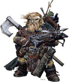 Nain ♂ - Rôdeur/Maître d'armes