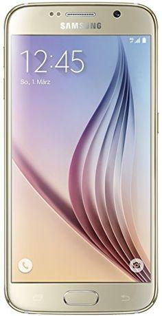 "Samsung Galaxy S6 - Smartphone libre Android (pantalla 5.1"", cámara 16 Mp, 32 GB, Quad-Core 2.1 GHz, 3 GB RAM), dorado Samsung"