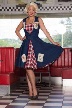 rockabilly duble dress, rockabilly fashion, rockabilly dresses, pinup wear, pinup dress, vintage fashion, pinup doll. photo: Kopasz ZSolt, Model: Gabriella Kovács-Kelédi, make-up: Tímea Birkás, hair: Marietta Stugel, dress: TiCCi Rockabilly Clothing, Thanx: SUNNY DINER #ticcirockabillyclothing, #marilyndreamhair, #birkástimimakeup #misspinuphungary