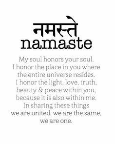 The power of Namaste//sanskrit words how to write namaste - Sanskrit Tattoo, Sanskrit Words, Sanskrit Symbols, Namaste Tattoo, Ahimsa Tattoo, Namaste Symbol, Buddhism Tattoo, Buddhist Symbols, Mantra Tattoo