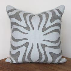 Irene Sea Pillow – www.SummerHouseStyle.com // $320