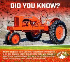 Orange Antique Tractors, Vintage Tractors, Vintage Farm, Antique Cars, Tractor Mower, Red Tractor, Triumph Motorcycles, Ducati, Mopar
