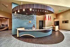 """Adelante Healthcare Mesa in Mesa, Ariz. -- """"Using EBD research focused on community health and safety net clinic design, Jain Malkin Inc. (San Diego) was brought in to develop spaces that would help relieve stress and meet the needs of patients, staff, and families in the diverse community."""""""