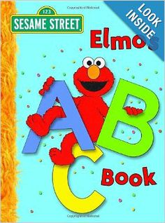 Elmo's ABC Book (Sesame Street) (Big Bird's Favorites Board Books): Deborah November, Carol Nicklaus: 9780375840371: Amazon.com: Books