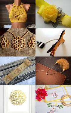 The Most Beautiful Yellow by By Ozras on Etsy--Pinned with TreasuryPin.com