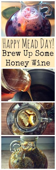 Happy Mead Day! Did you know that the first Saturday in August is Mead Day? Brew yourself up a batch of honey wine in celebration!