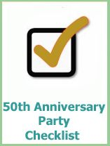 50th wedding anniversary planning