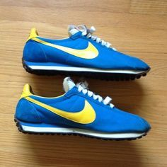 huge discount baa3f c3655 Nike Waffle Trainer, Nike Original, Vintage Nike, Vintage Shoes, School  Shoes,