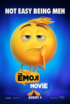 THE EMOJI MOVIE (DVD Release Date: 10/24/17) Starring: T. J. Miller, James Corden, Anna Faris, Maya Rudolph -- In this world, each emoji has only one facial expression, except for Gene, who is bursting with multiple expressions. Determined to become normal, Gene enlists the help of his handy best friend Hi-5 and Jailbreak. Together, these unlikely heroes embark on an epic app-venture through the apps on the phone, each its own wild and fun world, to find the code that will fix Gene!