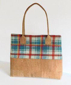 64bd94474e4e Vegan Bag Cork Bag Large Tote Shoulder Bag Gift for Women